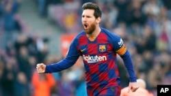 El astro argentino Lionel Messi.