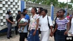 Haitianos en Dominicana.