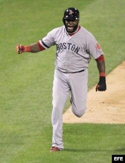 David Ortiz, declarado el Jugador Más Valioso (MVP) de la Serie Mundial de la MLB.