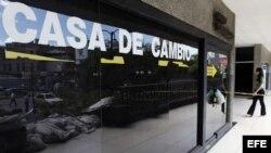 Casa de cambio en Caracas, Venezuela