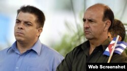 Felipe Pérez Roque y Carlos Lage Dávila