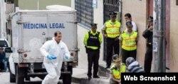 La doctora cubana fue asesinada el pasado 21 de agosto. (Captura de imagen/El Telegrafo)