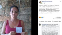 Activista cubana alerta sobre la aplicación de multas arbitrarias a la población