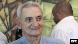 Presidente de la Federación Cubana de Voleibol, Eugenio George