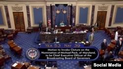Votación del Senado para nombramiento de Michael Pack al frente de USAGM