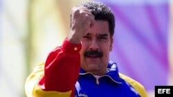 MARCHA DE SEGUIDORES DEL GOBIERNO VENEZOLANO