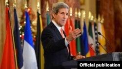 Secretario de Estado de EEUU John Kerry.