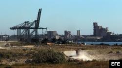 La futura Zona Especial de Desarrollo del Mariel (ZEDM), en Artemisa ( 45 kilómetros al oeste de La Habana).