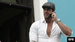 El actor de origen cubano William Levy grabando una telenovela en Rep. Dominicana