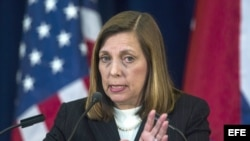 State Department Talks Between US and Cuba. Archivo.