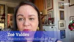 Declaraciones de Zoé Valdés a Radio Televisión Martí