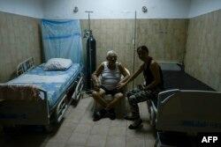 Una sala de hospital en Venezuela. (Archivo)