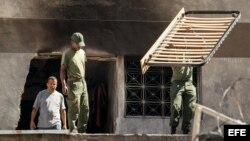Autoridades venezolanas investigan el ataque contra el presidente Nicolás Maduro.