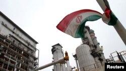 Un complejo petroquímico iraní en el golfo Pérsico. (Archivo)
