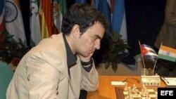 El Gran Maestro cubano Leinier Domínguez/ Archivo