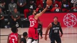El torneo que la NBA juega en la ciudad de Orlando tiene a los Raptors como uno de los mejores equipos del momento