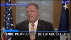 Secretario Pompeo elogia investigación de la OPS sobre contratación de médicos cubanos