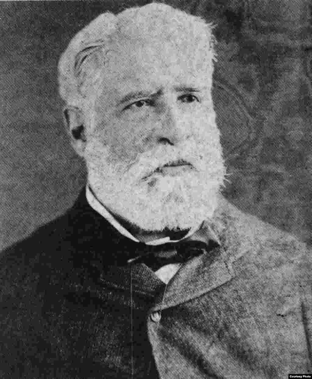 Rafael María de Mendive . Cortesía de Orlando González Esteva