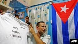 El líder de UNPACU, José Daniel Ferrer, en una imagen tomada el 25 de marzo de 2012 (Foto: Mariana Bazo/Reuters).
