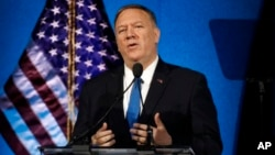 El secretario de Estado Mike Pompeo.