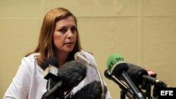 La jefa de la dirección de Estados Unidos del Ministerio de Relaciones Exteriores de Cuba (MINREX), Josefina Vidal.