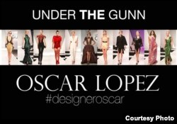 Oscar García López, diseñador cubano, ganador del show de televisión Project Runway.