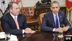 Boehner y Obama