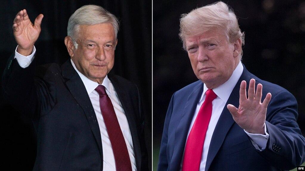 Andrés Manuel López Obrador y Donald Trump hablaron este miércoles sobre la inseguridad en Centroamérica.