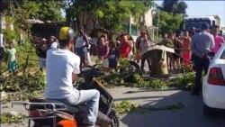 Protesta por falta de agua surte efecto en Arroyo Naranjo
