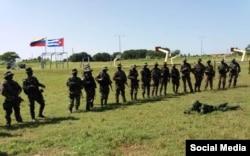 """Tropas especiales """"Avispas Negras"""" de Cuba participan con efectivos de Venezuela, China y Rusia en el ejercicio Operación Estratégica Combinada Integral contra las Amenazas Ceofanb 2018"""
