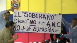 Tensa jornada de paro cívico en Venezuela
