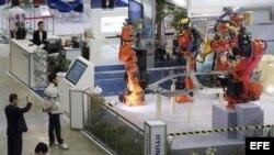 "Exposición de robótica ""Robot World"" en Goyang (Corea del Sur)"