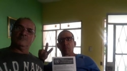 José Díaz Silva y Degni Miguel González critican las acciones del régimen en día de DDHH