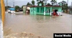 Sancti Spiritus es una de las provincias con mayores acumulados de lluvia a consecuencia de la tormenta Alberto.