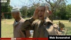 Imagen del reportaje de la BBC que aborda el Islam en Cuba.