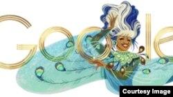 Google Logo 2013. Reconocimiento a Celia Cruz.