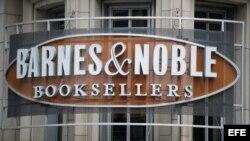 Fotografía detalle de la compañía Barnes & Noble Booksellers, en Washington DC, EE.UU.