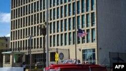 Embajada de Estados Unidos en Cuba (Yamil Lage/AFP).