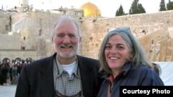 Alan y Judy Gross en Jerusalén.