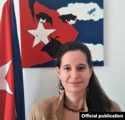 La diplomática cubana Lisandra Astiasarán Arias. Foto Ministerio de Relaciones Exteriores de Cuba