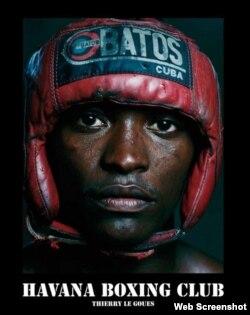 """Portada del libro """"Havana Boxing Club"""", de Thierry Le Goues."""