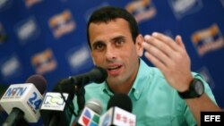 Henrique Capriles Radonsky. Foto de archivo.