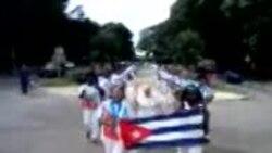 Damas de Blanco realizan su segunda marcha de este año