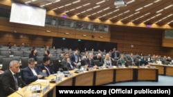 Foto Archivo. Reunión de la Comisión de Prevención del Delito y Justicia Penal (CCPCJ) del Consejo Económico y Social de la ONU.
