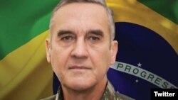 El comandante del Ejército de Brasil, general Eduardo Villas Boas.