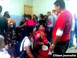 foto/ Hermanossinfronteras/ Cuerpo de guardia hospital Camagüey