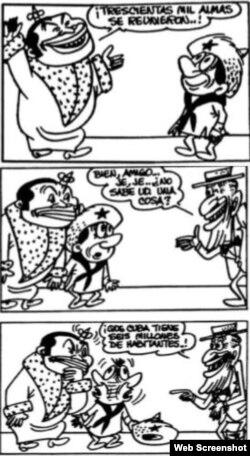 El Reyecito Criollo, de Silvio Fontanillas, en Bohemia.