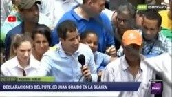Guaidó en acto callejero renueva compromiso con la libertad de Venezuela