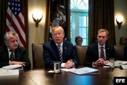 Trump anuncia que Corea del Norte ha liberado a tres estadounidenses.