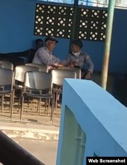 Policías en Alamar no usan nasobucos